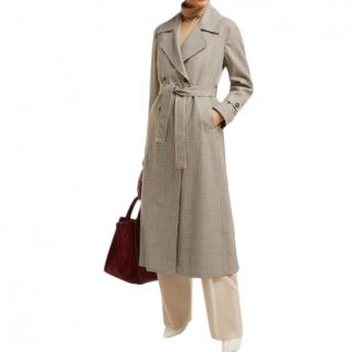 Giuliva Heritage The Christie Prince of Wales Check Trench Coat