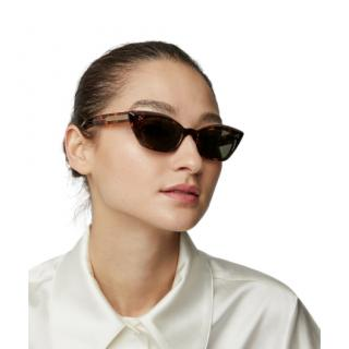Oliver Peoples Bianka Cat-eye Tortoiseshell Sunglasses