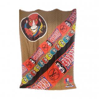 Louis Vuitton Kabuki Stickers Monogram Shawl