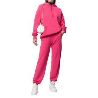 Les Girls Les Boys loopback cotton hoodie & track pants