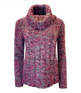 See By Chloe Multicoloured Roll Neck Knit Jumper
