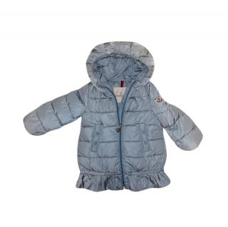 Moncler Baby Blue Kid's 18/24m Azinza Down Coat