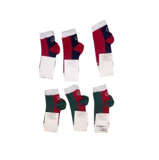 Gucci Kids 3Y & 4Y Set of GG Socks