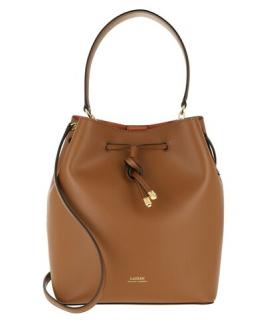 Lauren Ralph Lauren Cognac Debby Drawstring Bag