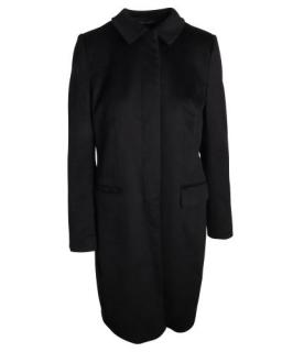 Joseph Black Wool Tailored Coat