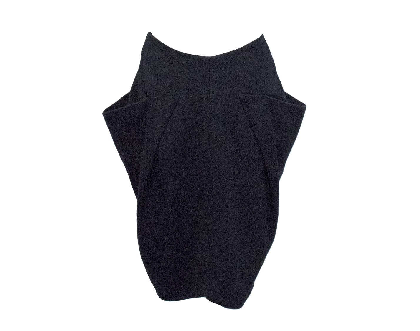 Roland Mouret Navy Pencil Skirt
