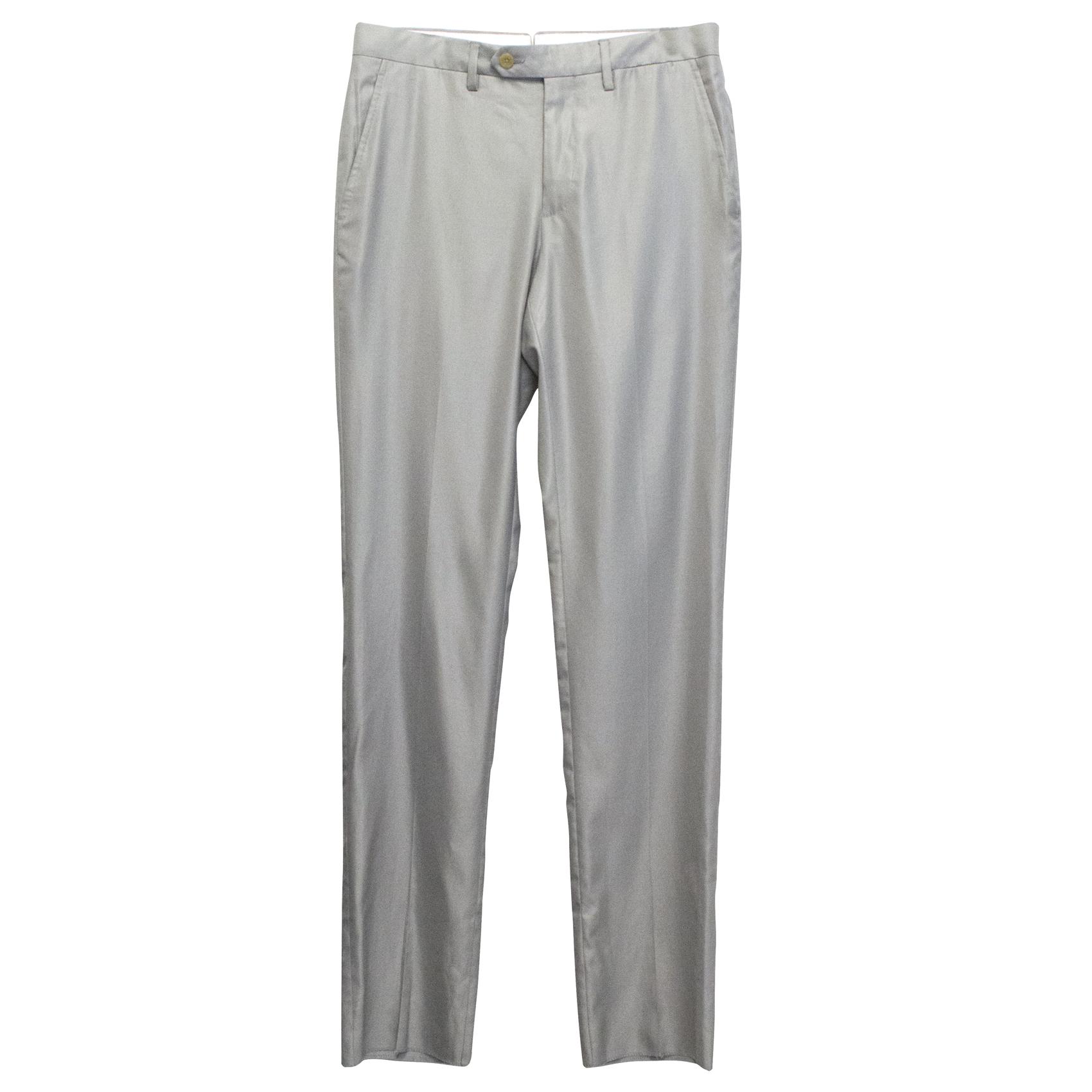 Grey Smart Trousers