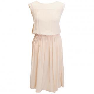 Borne by Elise Bergar Nude Dress