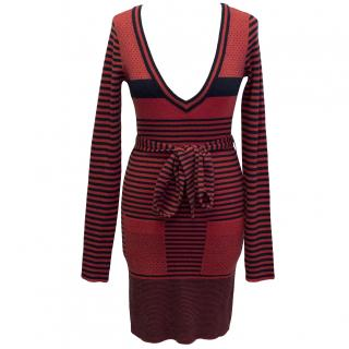Marc by Marc Jacobs Striped Sweater Dress