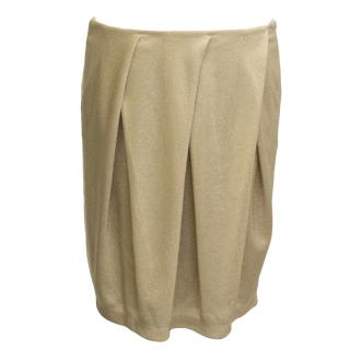 See by Chloe Gold Skirt