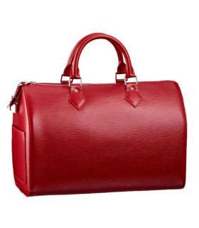Louis Vuitton Red Speedy Bag