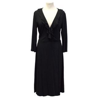 Betty Jackson Back Wrap Dress