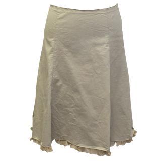 Prada Beige Skirt