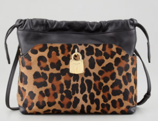 Burberry Little Crush Leopard Bag