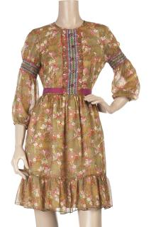 Anna Sui Silk Dress new