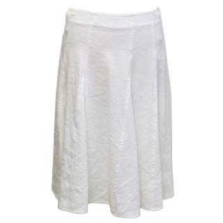 Piazza Sempione White Skirt