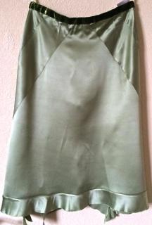 Nicole Farhi silk skirt