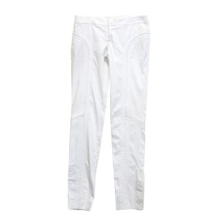 Gucci White Trousers
