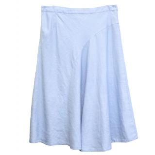 Paul Costelloe Light Blue Skirt