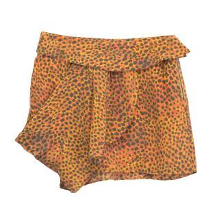 Twenty8Twelve Printed Chabol Silk Skirt