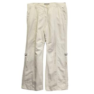 Marc Cain Biege Cargo Trousers