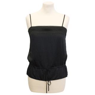 Jaeger Black Silk Camisole