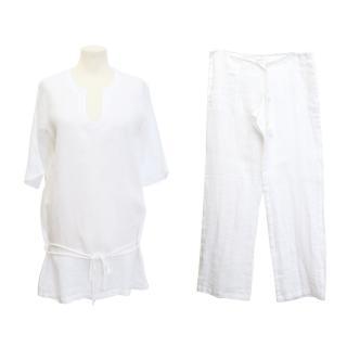 La Perla White Two-Piece