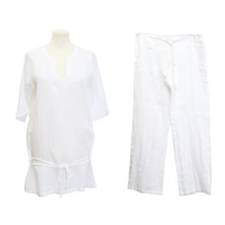 La Perla White Two-Piece