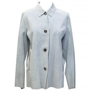 Riri Blue Suede Jacket