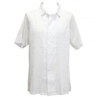 Rajesh Pratap Singh White Half Sleeve Shirt