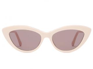 Stella McCartney Chain-trim acetate cat-eye sunglasses