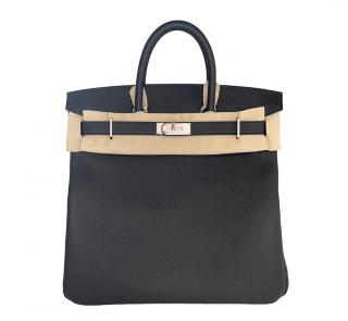 Hermes Black Togo Leather Birkin HAC 40 PHW