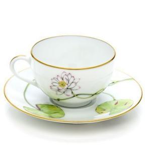 Hermes Jardin sur le Nil Breakfast Cups & Saucer