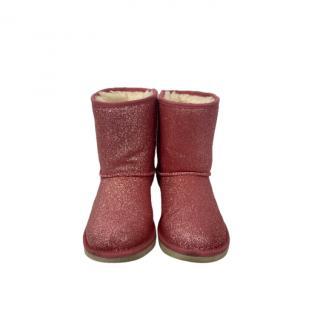 UGG Pink Glitter Ugg Boots