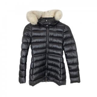 Woolrich Fox Fur Trim Down Jacket