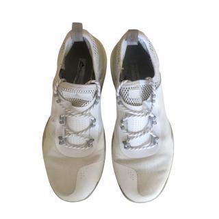Stella McCartney x Adidas White Lace-Up Sneakers