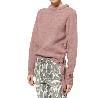 Isabel Marant Etoile Pink Marcy Knit Jumper