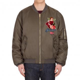 Dolce & Gabbana Reversible Paradiso 1984 Bomber Jacket