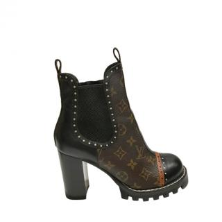 Louis VUitton Monogram Star Trail Ankle Boots
