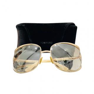 Tom Ford Ivory Margaux Sunglasses