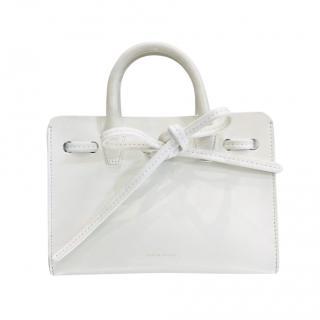 Mansur Gavriel Sur Gavriel White Mini Top Handle Bag