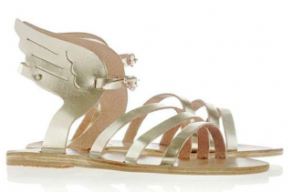Ancient Greek Sandals Gold Winged Sandals
