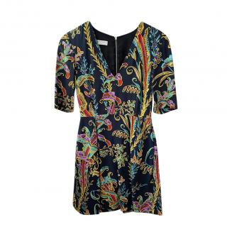Philosophy do Lorenzo Serafini Multicoloured Paisley A-Line Dress