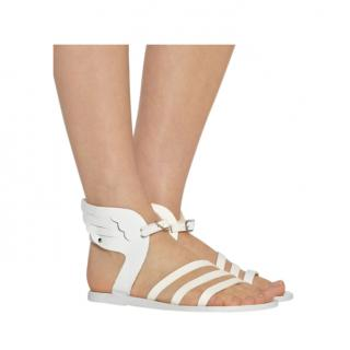Ancient Greek Sandals Ikaria Leather Wing Sandals