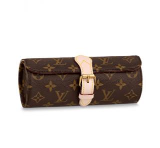 Louis Vuitton Monogram 3 Watch Case