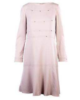 Valentino Powder Pink Rockstud Shift Dress