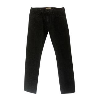 Burberry Men's Classic Grey Jeans