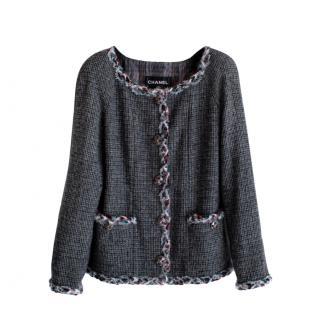 Chanel Paris/Edinburgh Jewel Buttons Tweed Jacket