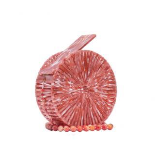 Cult Gaia Melon Luna Crossbody Bag