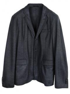 Z Zegna Single Breasted Wool Blazer.